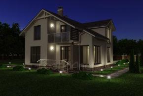 3 Проект дома П20-12
