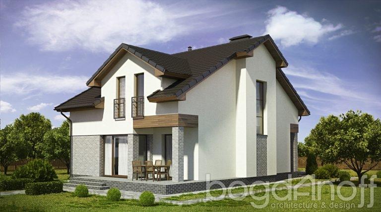 Готовый проект дома П20-2