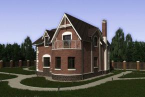 4 проект дома П21-12