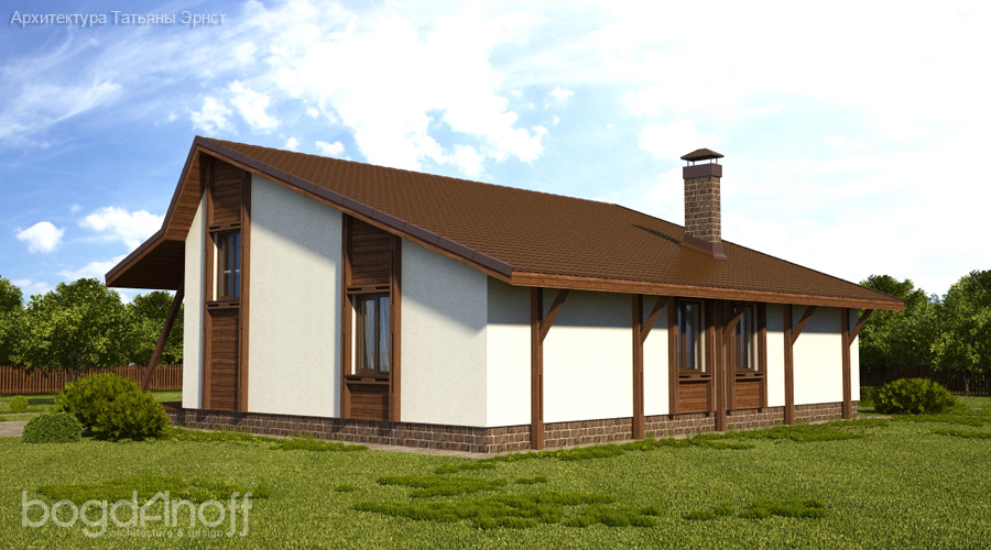 Проект дома П22-12 3
