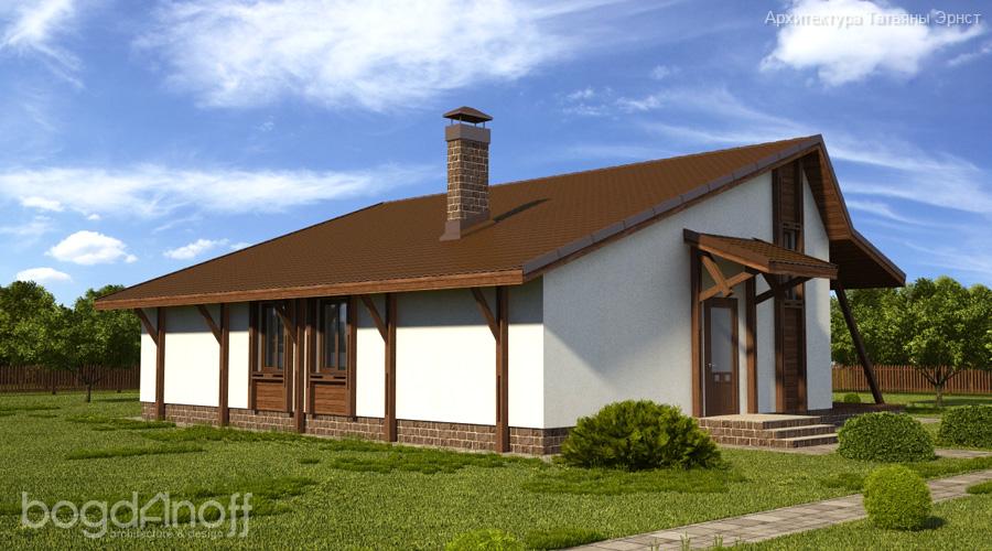 Проект дома П22-12 4