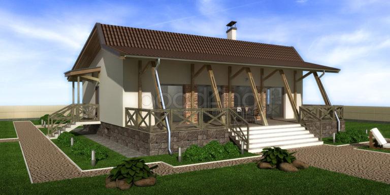 Готовый проект дома П22-13