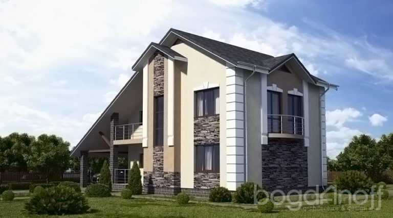 Проект дома П23-1