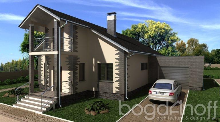 Проект дома П25-1