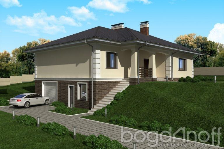 Проект дома П26-1