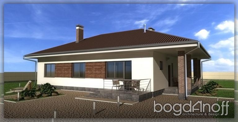 Проект дома П28-1