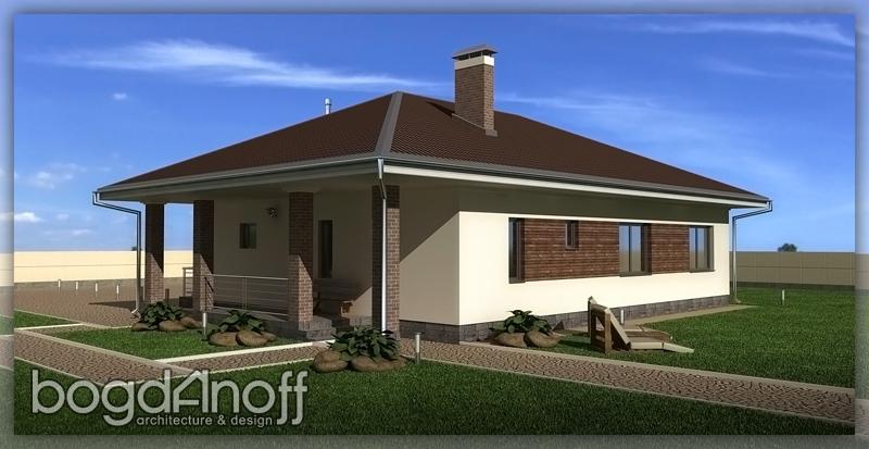 Проект одноэтажного дома 124 кв фото