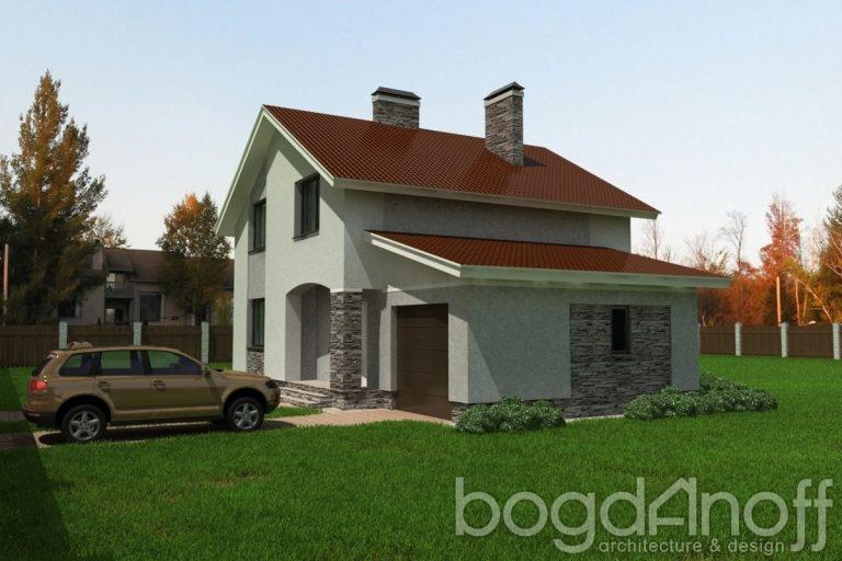 Проект дома П3-12