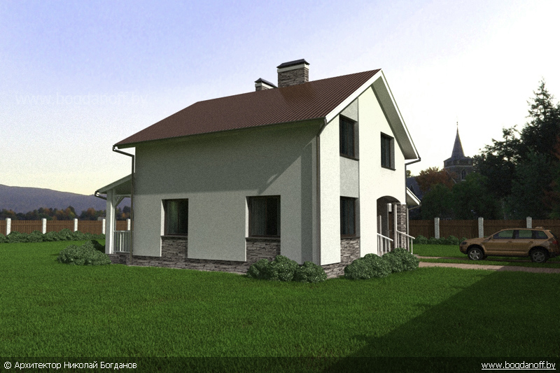 Проект дома П3-13