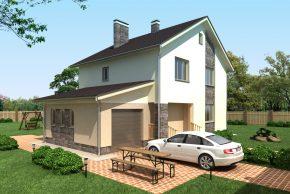 Проект дома П3-132