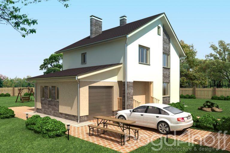 Готовый проект дома П3-132