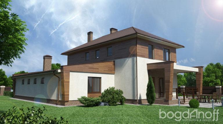 Готовый проект дома П3-31