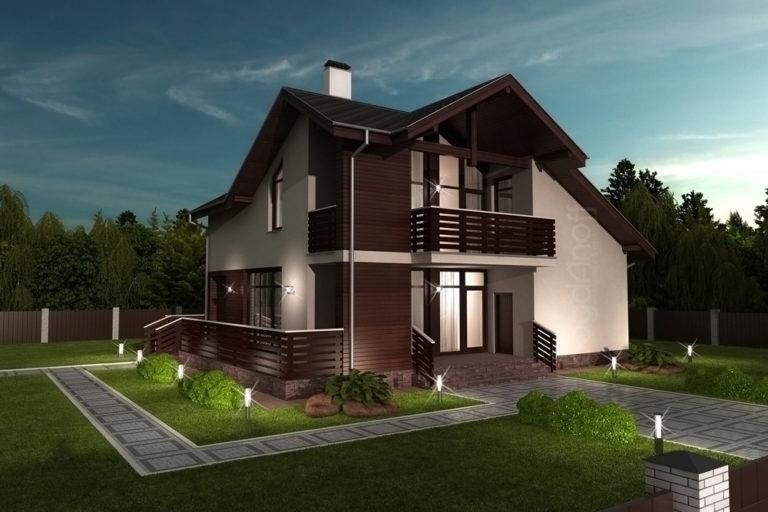 Готовый проект дома П3-9
