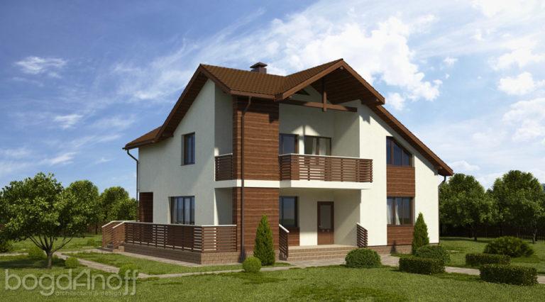 Проект дома П3-91