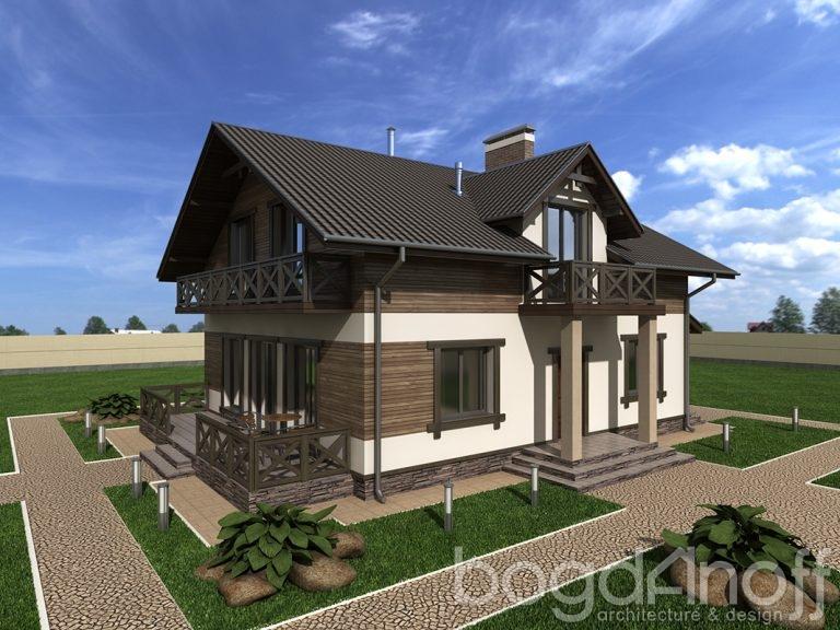 Проект дома П30-1