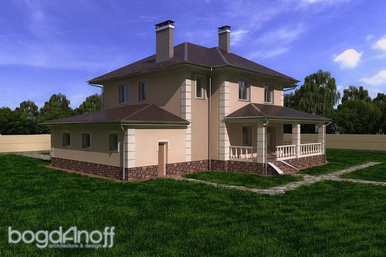 Проект дома П4-14