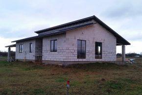 Строительство одноэтажного дома по проекту