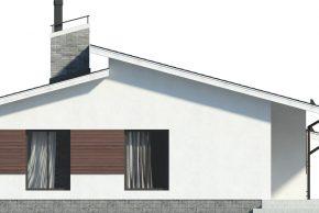 Фасад с окнами в пол