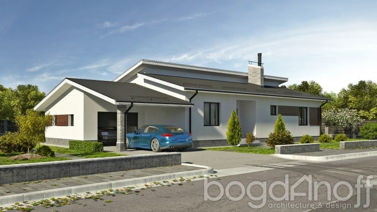 Проект дома П4-24