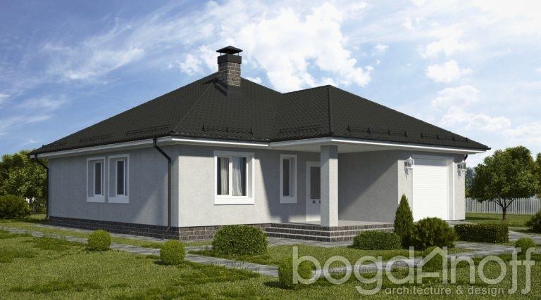 Проект дома П4-3