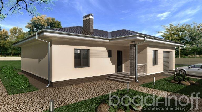 Готовый проект дома П4-31