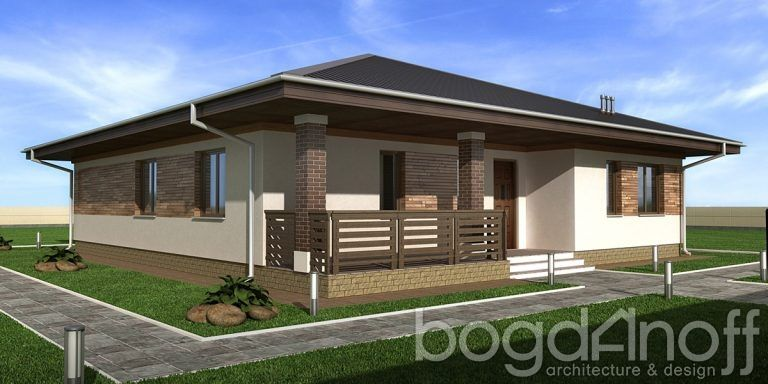 Проект дома П4-6