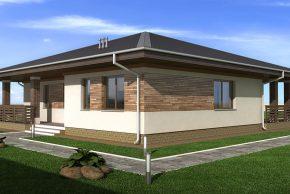 Жилой дом с террасой