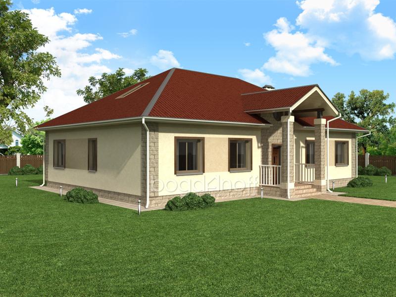 Проект дома П4-1