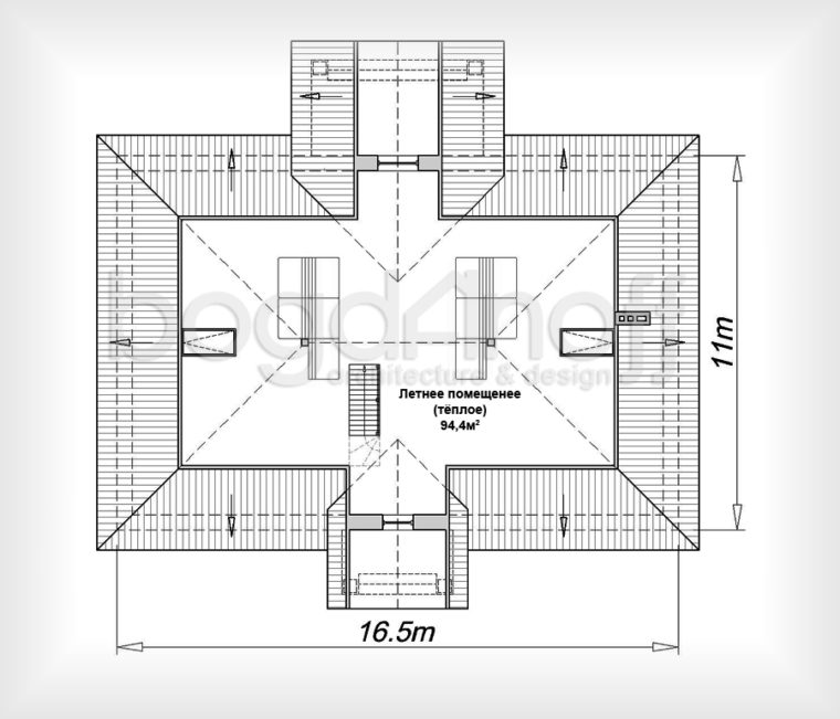 План манс. этажа