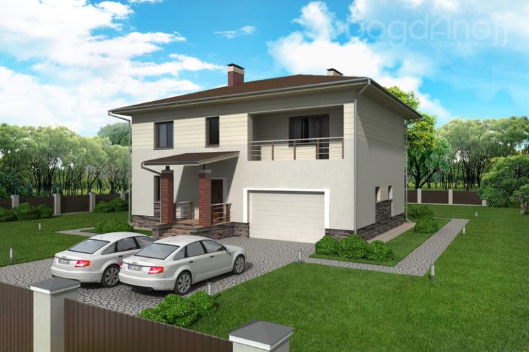 Проект дома П6-1