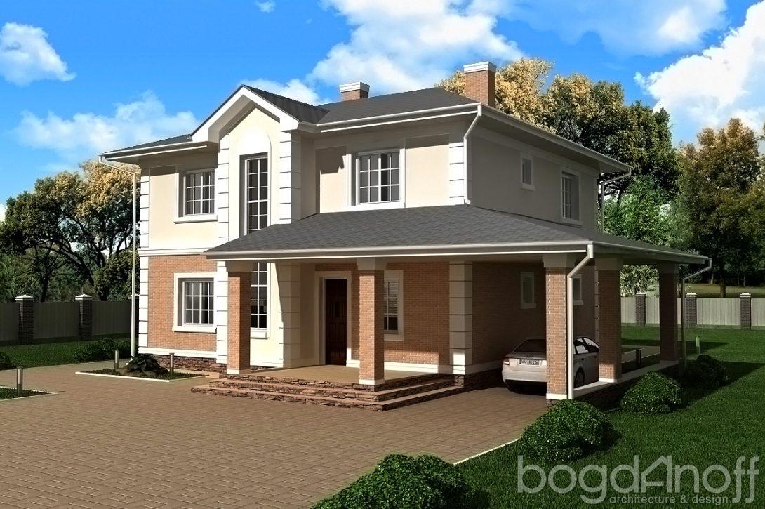 Классический фасад дома