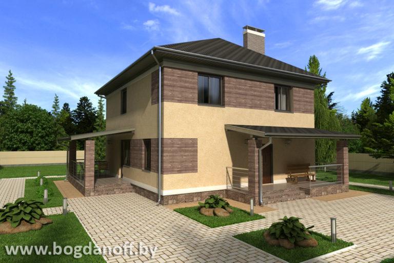 Проект дома П6-3