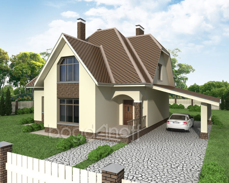 Проект дома П7-1