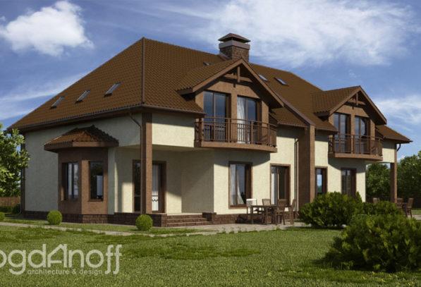 1 Проект дома П7-4