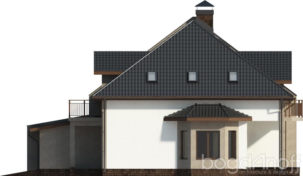 Макет двухквартирного дома
