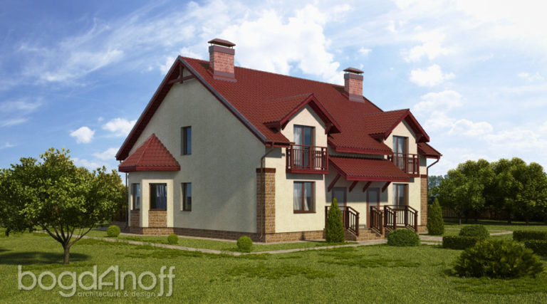 Проект дома П7-41