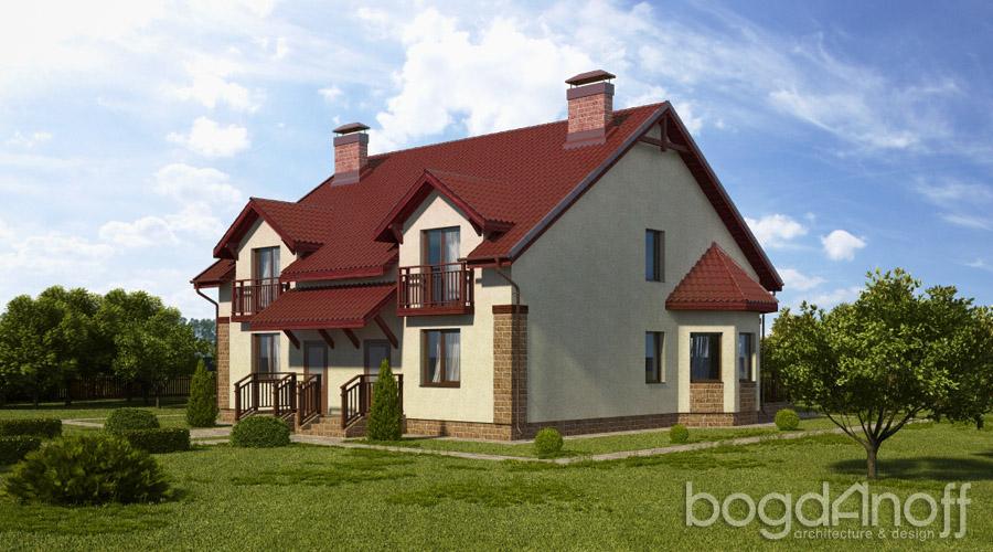 2 Проект дома П7-41