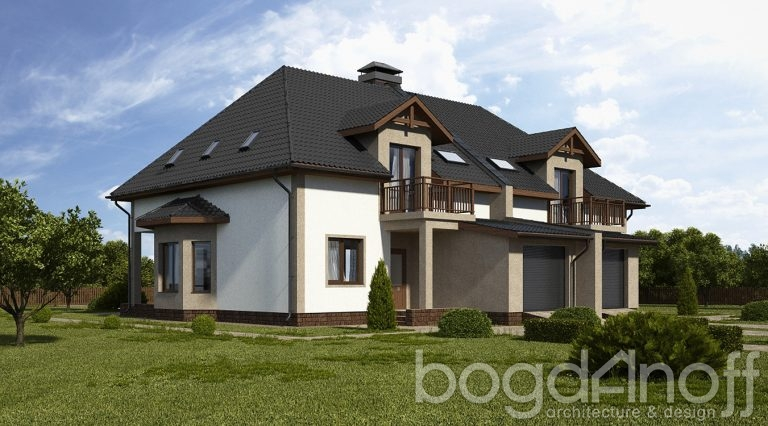 Проект дома П7-42