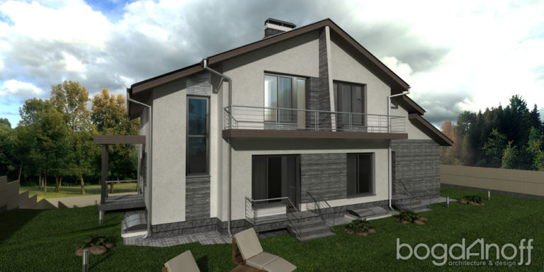Проект дома П7-5