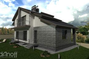 Проект двухквартирного дома фото