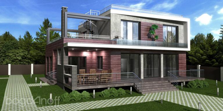 Проект дома Unifox