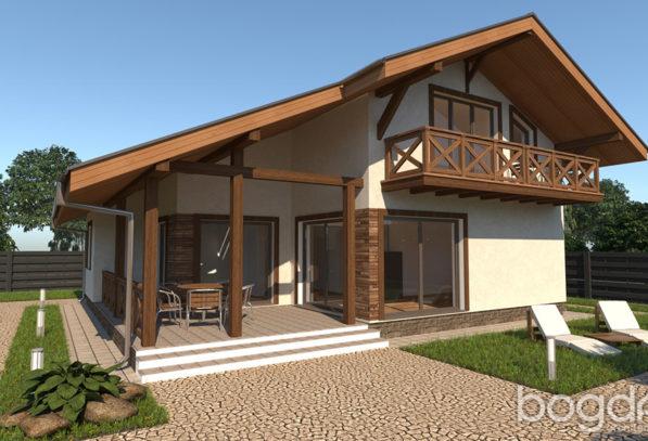 Проект дома Шале