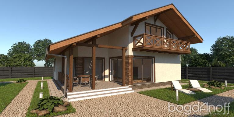 Проект дома П9-22