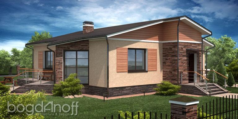 Готовый проект дома П1-4