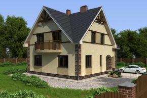 Проект дома П2-3