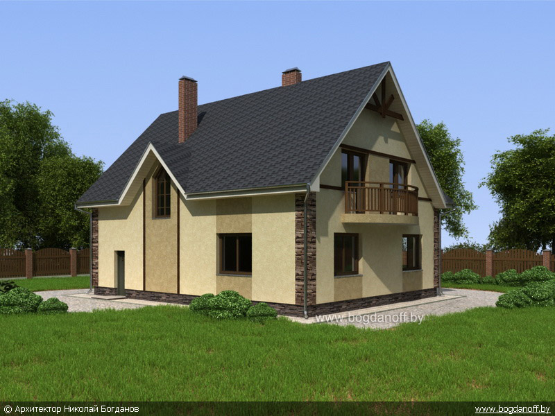 4Проект дома П2-3