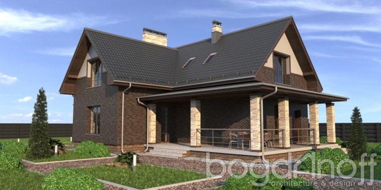 Готовый проект дома П21-14
