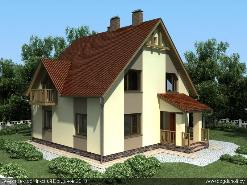 2Проект дома П3-1