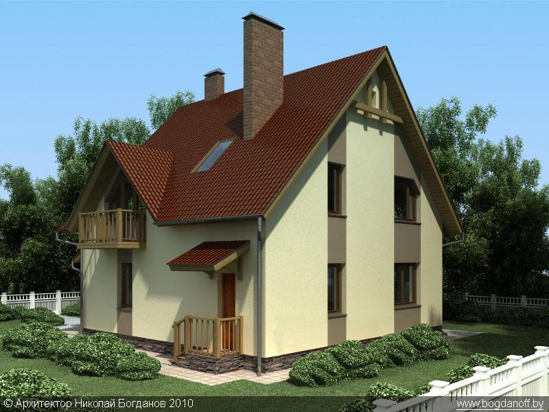 3Проект дома П3-1
