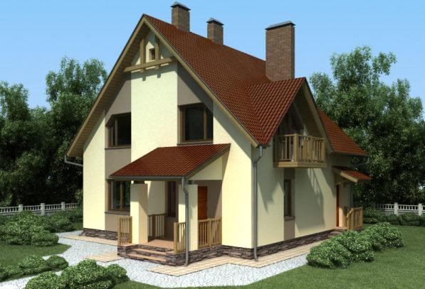 4Проект дома П3-1